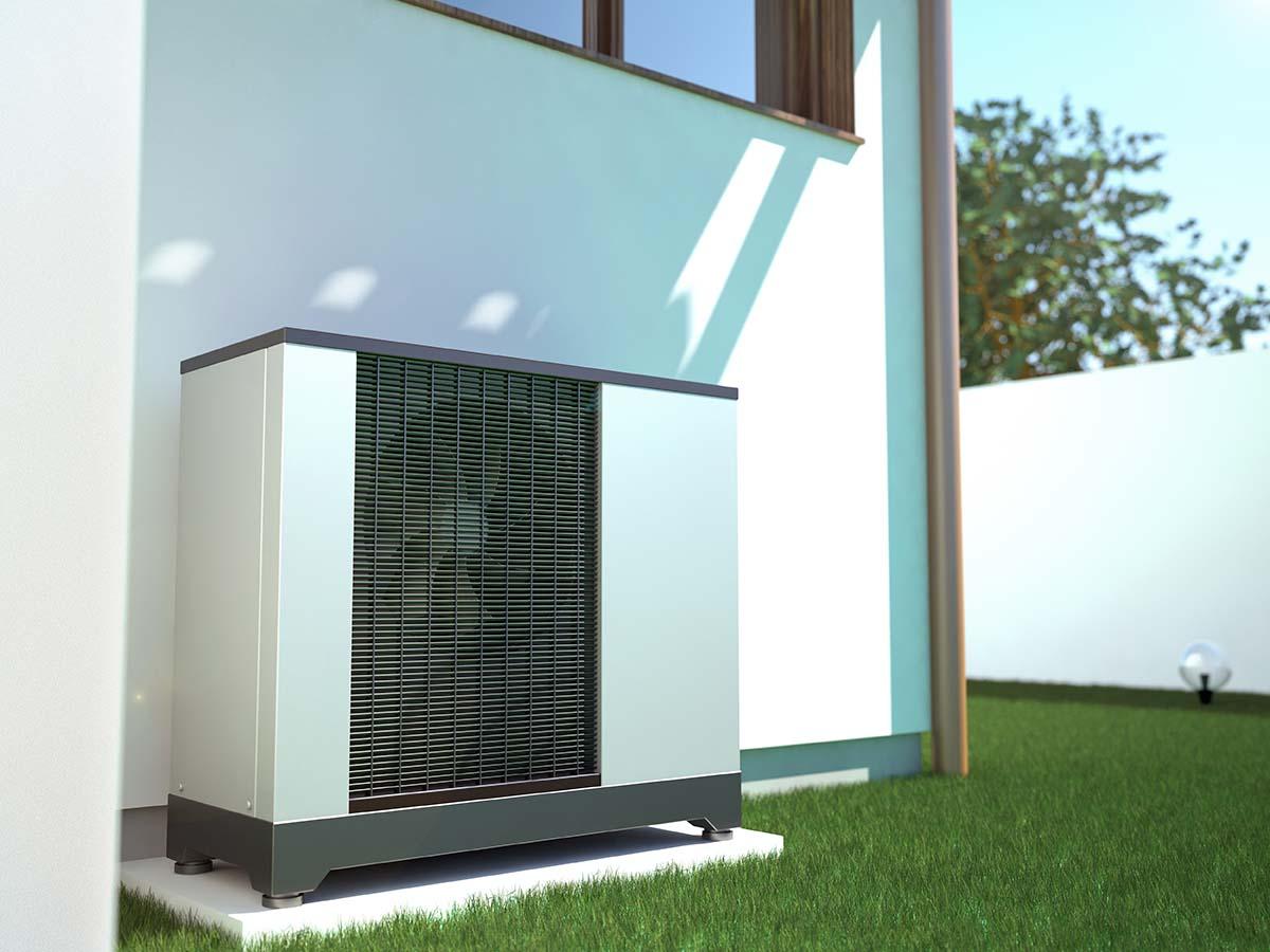 ogrzewanie budynku i wody użytkowej pompą ciepła